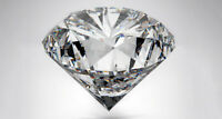 1 diamant blanc naturel ( 0.10 cts - VVS - H )