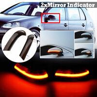Paar Dynamische LED Blinker Spiegelblinker Spiegel für VW Golf V VI Jetta Passat