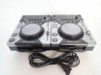 Pioneer CDJ-400 Pair 2 SET CD Digital Media Player DJ in Very Good Condition