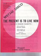 partition  ALAN COBB  the present is to live now