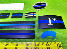 """Thin Blue Line Police  """"Bundle Deal"""" - 10 great decals for $10 - Ships FREE"""