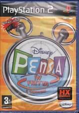Disney Pensa In Fretta Videogioco Playstation 2 PS2 Nuovo Sigillato