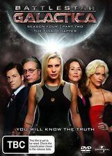 Battlestar Galactica : Season 4 : Part 2 (DVD, 2009, 4-Disc Set)