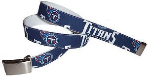 Tennessee Titans Belt Buckle Logo Pro Football Fan Gear NFL Shop Team Apparel TN