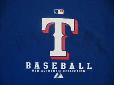 MLB Authentic Texas Rangers Baseball Team Logo T Shirt M