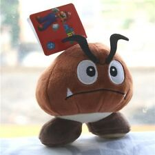 "Super Mario Bros game 5.5"" Soft Toy Goomba Plush Stuffed Animal Doll X'mas Gift"