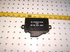 Mercedes W140 S Class Front or rear seat heater Genuine Mercedes 1 Module /relay