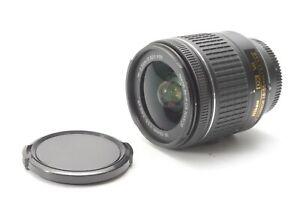 Nikon Nikkor AF-P 18-55mm F/3.5-5.6 VR G DX Lens - With Front and Rear Lens Caps