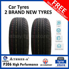 2X New 175 70 13 THREE-A P306 82T 175/70R13 1757013 *B WET GRIP*  (2 TYRES)