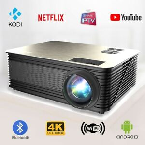 No1 Smart Projector - Wi-Fi Bluetooth Android - Top IPTV Projector