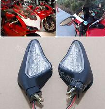 Rearview Mirrors LED Turn Signal Blinker for DUCATI 848 1098 1198 1098S/R 1198R