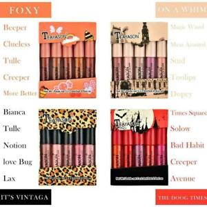 5pcs Liquid Lipstick Set Waterproof Lipgloss Makeup Tool Lip Velvet Glos K1H6