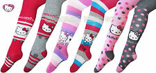 New official Hello Kitty girls tights 2 3 4 5 6 7 years spotted striped