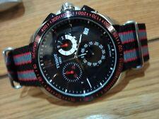 Tissot Veloci-T  45mm Chrono Black Dial Quick Set Date Quartz full set US Seller