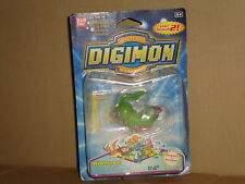 DIGIMON WORMMON ACTION FIGURE + POSTER - STICKER NUEVA A ESTRENAR