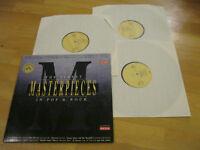 3 LP Various The Finest Masterpieces in Pop & Rock Vinyl EMI 152Y 7 95673 1