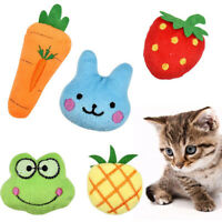 1PC Dog Cat Toy Play Cute Pet Puppy Chew Squeaker Squeaky Plush Sound Toys Gift