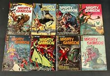 MIGHTY SAMSON 1964 #1 TO 31 GOLD KEY COMPLETE SET AMAZING PAINTED COVERS!!!