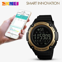 SKMEI Fashion Men's Sports Smart Watch Waterproof BT Digital Wristwatch 1347 54