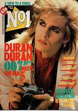 Nick Rhodes of Duran Duran on Magazine Cover 1985  OMD  Madonna  Michael Jackson