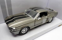 Lucky Diecast 1/24 Scale 31873 - Ford Shelby Mustang GT500 - Metallic Grey