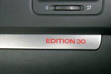 VW GOLF EDITION 30 STICKER! DASH INTERIOR DECAL GTI Mk5.