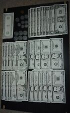 Learning Resources Fake Money 20s 10s 5s 1s Quarters Dimes Nickels A Penny Lot