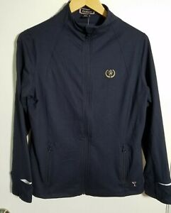 1 NWT WOMEN'S GOLFTINI JACKET, SIZE: X-LARGE, COLOR: NAVY/WHITE (J301)
