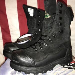 "Rocky 7455 Blizzard Stalker 12"" Men'sBlack 1200g Insulation Winter Boots 11M NWT"