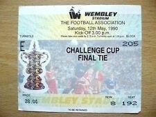 Ticket- FA CUP FINAL 1990- CRYSTAL PALACE v MANCHESTER UNITED