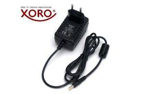 XORO PTL 700, 900, 1010, 1011, 1012 Netzteil DC 9V 1.5A Adapter