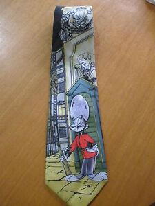 Ties - Bugs Bunny Royal Guard Vincent silk tie