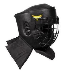 ProForce Thunder Padded Combat Head Guard w/ Face Cage Kendo Martial Arts