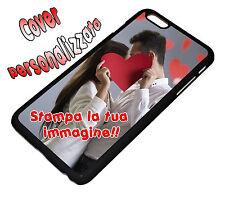 COVER CASE PERSONALIZZATA COMPATIBILE PER IPHONE 6 PLUS PERSONALIZZABILE NERO