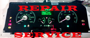 2006 2007 2008 2009 2010 2011 LINCOLN TOWN CAR INSTRUMENT CLUSTER REPAIR SERVICE