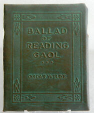 Wilde - Ballad of Reading Goal - Book Little Leather Library Redcroft