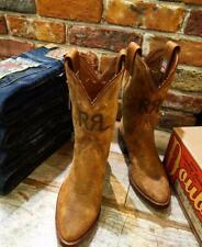 RRL Western Boots Size US 8 Very good condition From JAPAN