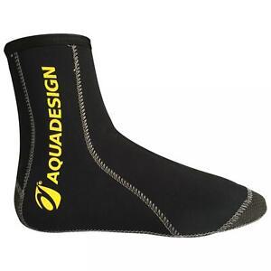 Neoprensocken verstärkt Aquadesign Araam Socks Wassersport Tauchen Kajak Schuhe