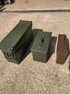 EX Army Ammunition Boxes