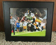 LE'VEON BELL AUTO SIGNED 8 x 10 FRAMED PHOTO PITTSBURGH STEELERS RARE