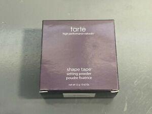 Tarte Shape Tape Setting Powder Translucent 12 g / 0.42 oz NIB