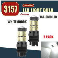 144SMD 3157 3156 LED Reverse Bulb Backup Signal Light 6000K FIT For Chevrolet