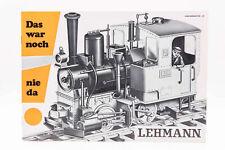 LGB Kataloge / Zeitschriften - LGB Katalog Das war noch nie da LEHMANN Spur G
