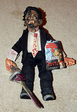 MEZCO CINEMA OF FEAR LEATHERFACE PLUSH NEW SEALED THE TEXAS CHAINSAW MASSACRE 2