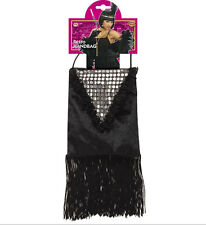 Handbag Retro Sequinned Novelty Prop for 20s Flapper Gangster Moll Fancy Dress a