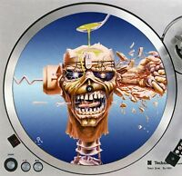 "Iron Maiden Eddie #3 Turntable Slipmat 12"" LP Record Player, DJ Slip Mat x1"