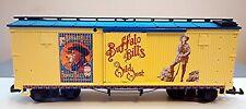 G SCALE LGB 44670 BUFFALO BILL BOXCAR - NEVER USED
