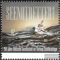 BRD 3153 (kompl.Ausg.) postfrisch 2015 Rettung Schiffsbrüchiger