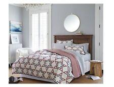 NEW Threshold Full Queen Americana Star Quilt & 2 Pillow Shams ~ Reversible ~