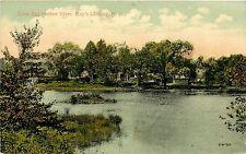 c1910 Postcard Great Egg Harbor River, May's Landing NJ Atlantic County Unposted
